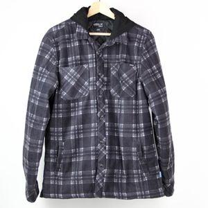 O'Neill Mens Jacket Fleece Hooded Insulated Size M